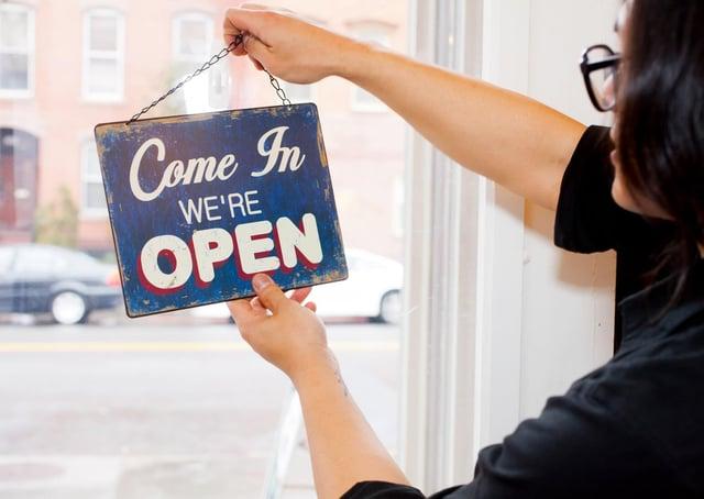Restart gramts for businesses planning to open