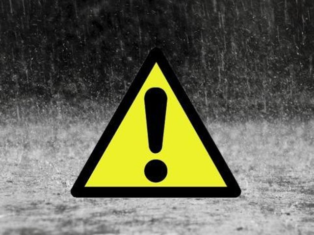 A Yellow weather warning has been issued for Skegness.