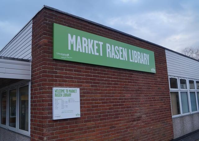 Market Rasen Library.