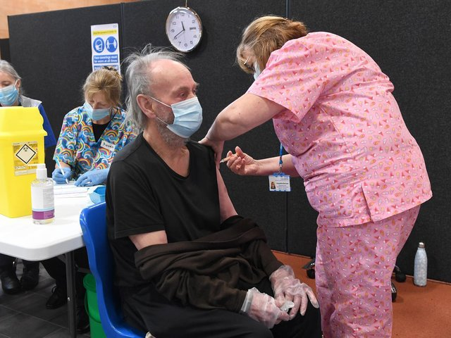 More than 300,000 jabs in total have now been administered in the county