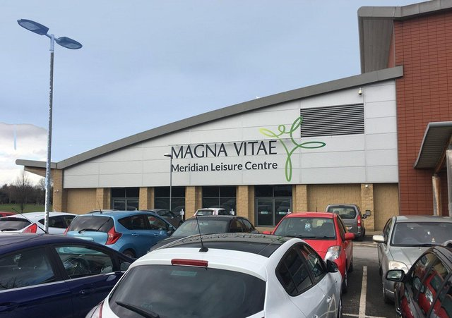 The Meridian Leisure Centre in Louth, run by the Magna Vitae Trust.