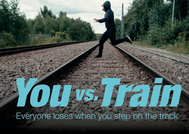 A new rail safety video, You vs Train will be streamed into schools on Thursday to warn teens about the dangers of messing around on the tracks during the school holidays. EMN-210316-174958001