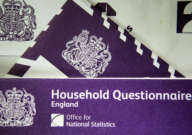 The last census took place in 2011. Getty Images
