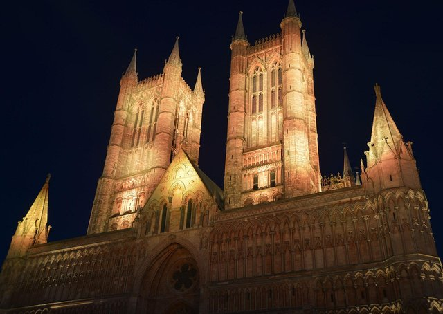 Lincoln Cathedral will be lit yellow on Tuesday (March 23) for the National Day of Reflection EMN-210319-150541001