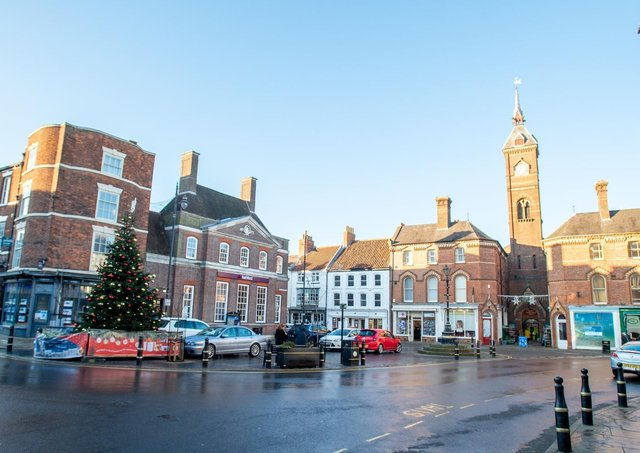 Louth town centre