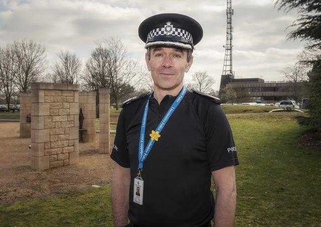 Lincolnshire Police Chief Constable Chris Haward.