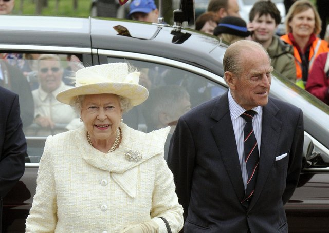 The Queen, who celebrates her Platinum Jubliee next year, with Prince Phillip, pictured in 2009 EMN-210325-154020001
