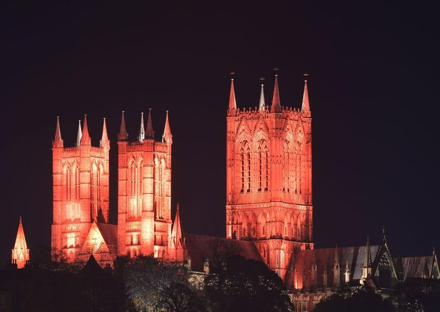 Lincoln cathedral will be lit up for Holy Week and Easter EMN-210326-171829001