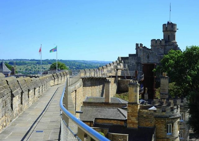 Following the latest Government guidance, Lincoln Castle's spectacular Medieval Wall Walk will reopen on Monday, April 12. EMN-210329-151842001