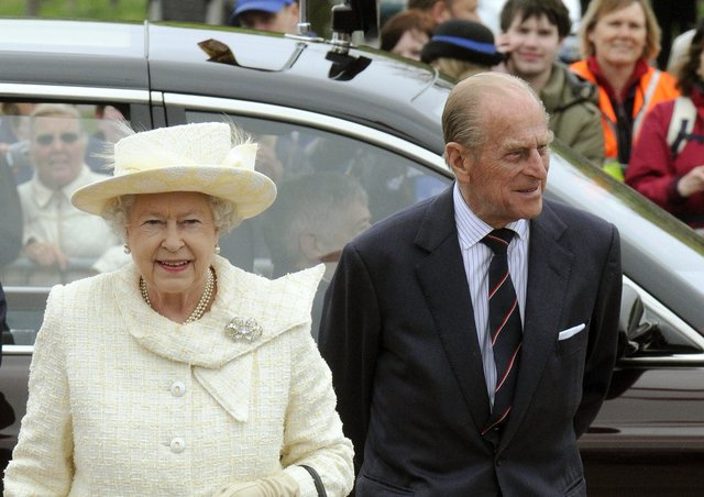 The Queen and Prince Philip, pictured in 2009 EMN-210325-154020001