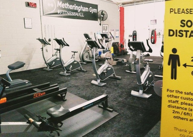 Lots of improvements have been done to Metheringham Gym during lockdown. EMN-210504-110450001
