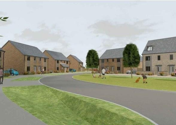 Two open spaces will be created as part of the 64-home Longhurst scheme. EMN-210104-154844001