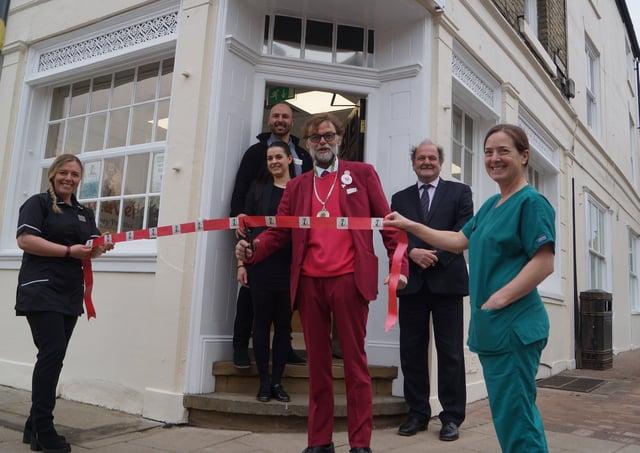 Rasen's Deputy Mayor officially opened LucaVet last Thursday EMN-210504-074157001