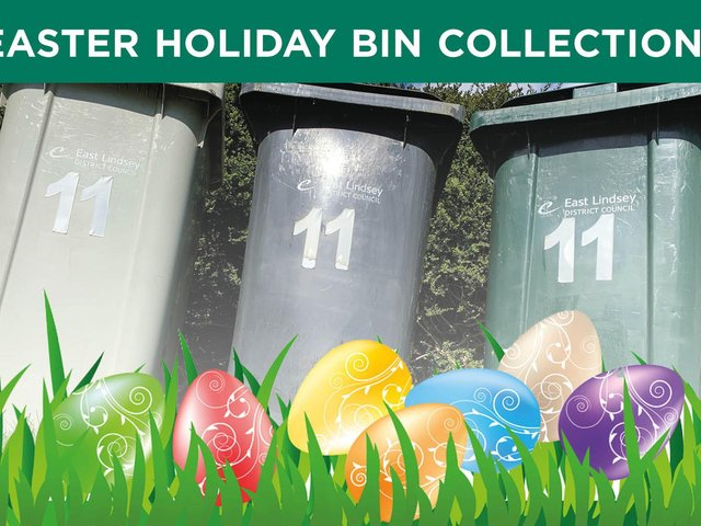 Bin collections over Easter will remain the same.