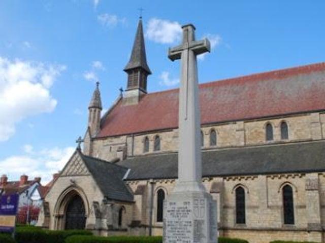 St Matthew's Church in Skegness.