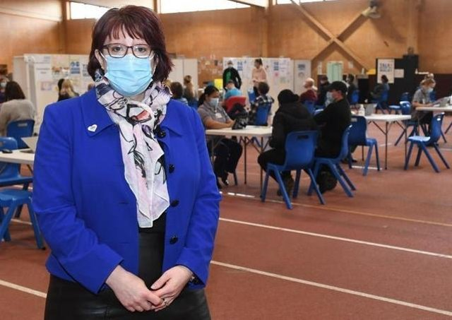 Rebecca Neno - high praise for county's vaccine roll-out
