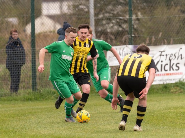 Wyberton played an in-house friendly on Saturday, including their L:incs League and Saturday League players. Photo: @RussellDossett (www.sportspictures.online)