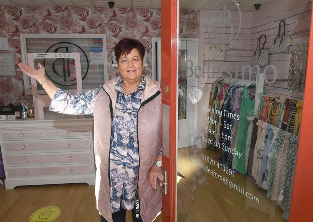 Bellissimo Boutique. Owner, Wendy Hanslip. EMN-211204-175337001