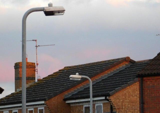 Street lighting concerns on social media dismissed.