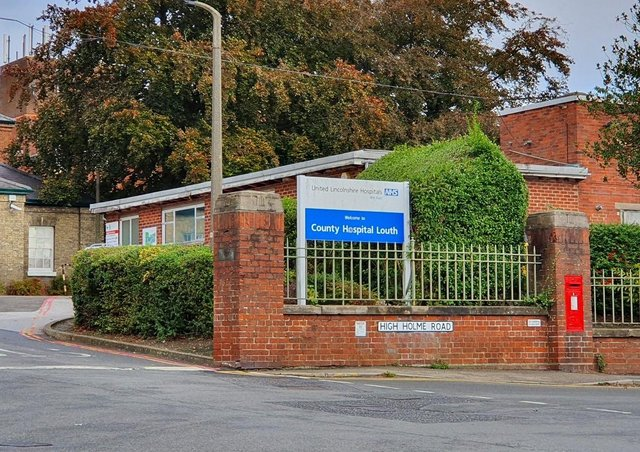 Lincolnshire Community Health Services NHS Trust runs four hospitals across the county, including Louth County Hospital (pictured).