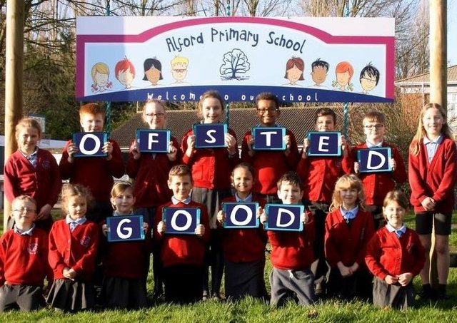 Ofsted has rated Alford Promary School 'Good'.