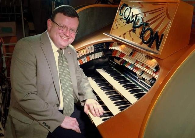 Organist Cameron Lloyd