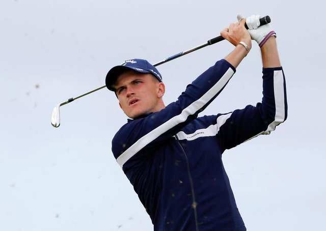 Ashton Turner finished 28th on the EuroPro Tour order of merit in 2019 and made the cut at The Open. Picture: Kevin C. Cox/Getty Images. EMN-200903-170410002