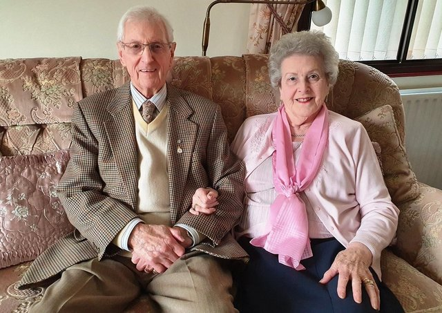 John and Anita celebrate their 65th anniversary this week.