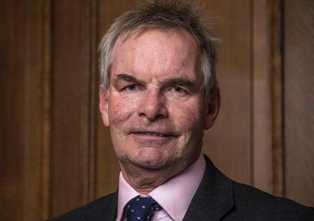 Coun Martin Hill, Leader of Lincolnshire County Council. EMN-201103-174841001