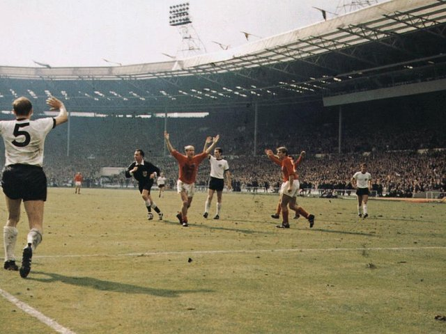 England won the World Cup in 1966. Have you ever seen the whole game? Photo: GettyImages