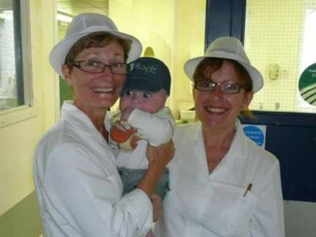 Ruth Slater and Judith Harland are retiring after together serving 80 years as chefs for the NHS.