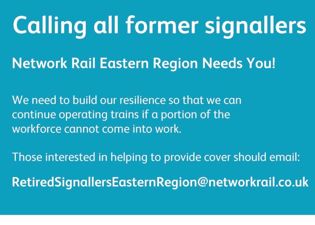 Network Rail needs you!