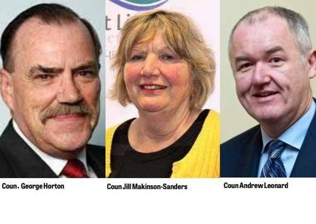 The three former Mayors of Louth signed a joint letter earlier this week.