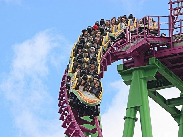 Ride the Millennium and win family day out when Fantasy Island in Ingoldmells re-opens.