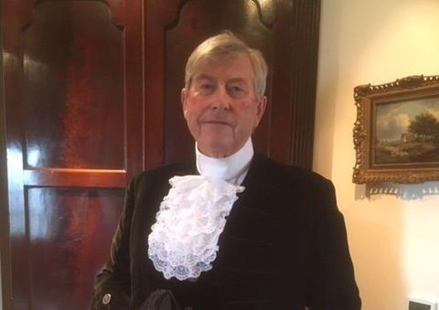The New High Sheriff of Lincolnshire Michael Scott.