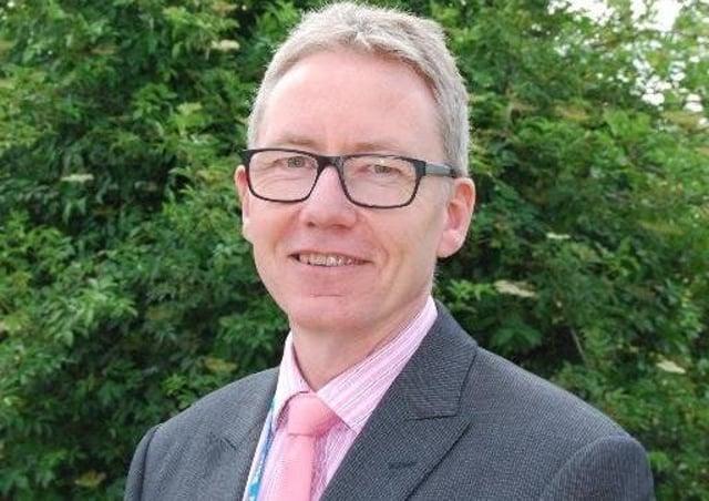 Andrew Morgan - chief executive of United Lincolnshire Hospitals Trust. EMN-200104-142742001