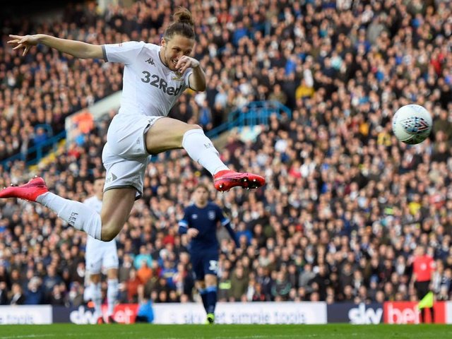 Luke Ayling scores for Championship side Leeds United. Photo: GettyImages