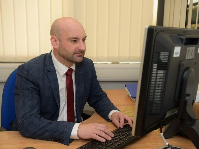 """PCC Marc Jones says: My vision is that anybody in Lincolnshire who has been the victim of crime receives the support they need."""""""
