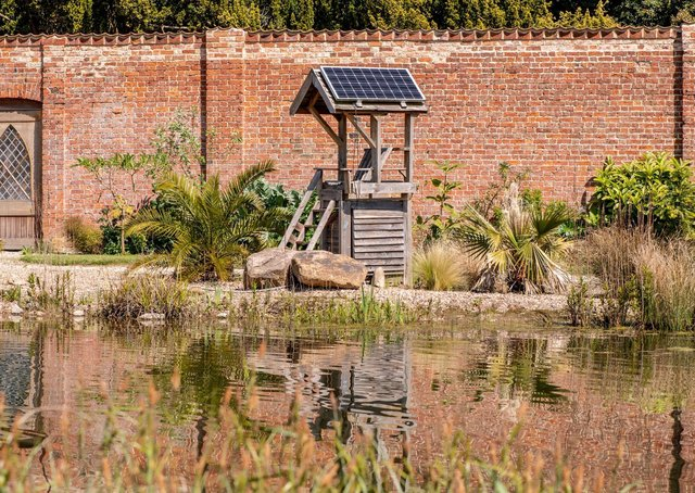 The tranquil Walled Garden Baumber is maintaining its free to visit policy