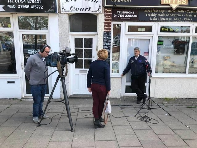 The BBC came to Skegness as part of its investigation into Business Improvement Districts.