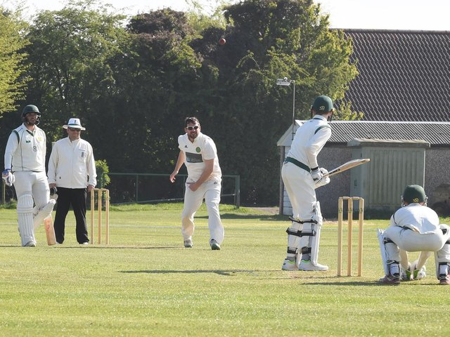 Action between Boston and Grantham last year.