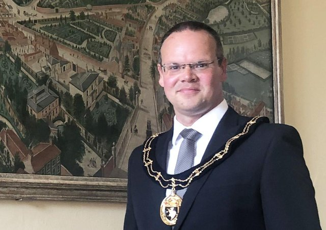 Councillor Darren Hobson is the Mayor of Louth for 2020/21.