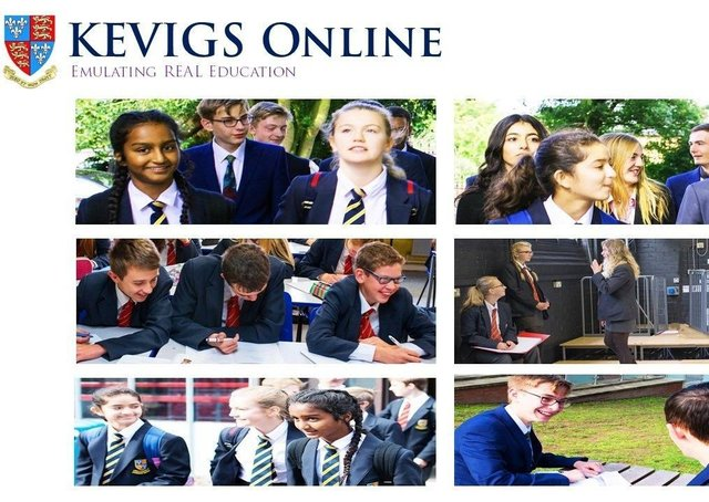 The 'KEVIGS Online' system has been a big hit with pupils and parents alike.