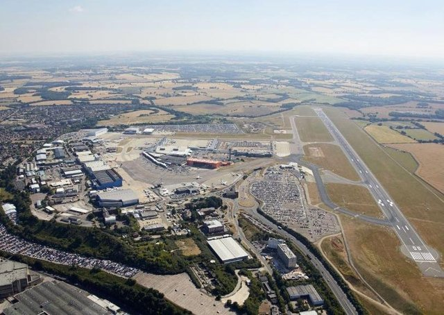 Luton Airport - holidaymakers are being advised to avoid travel to Spain after a spike in Covid-19 cases.