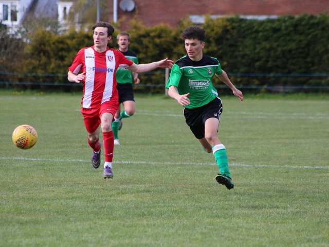 Horncastle Town v Sleaford Town Rangers. Photo: Oliver Atkin