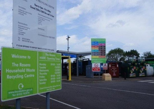 The Rasens Household Waste Recycling Centre. EMN-210419-134636001