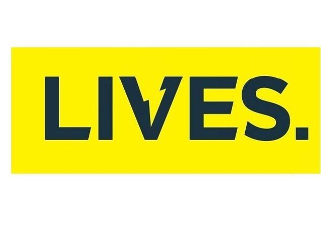 LIVES logo.