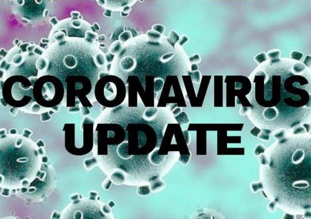 Coronavirus stock image.