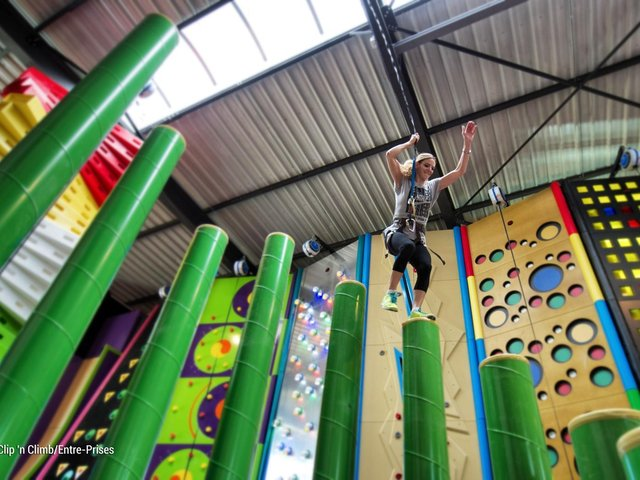 Clip 'n Climb is coming to Skegness Pier.