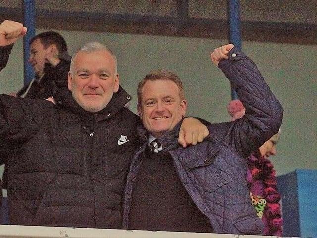 Nigel Wedgwood (left) and Dean Williams.